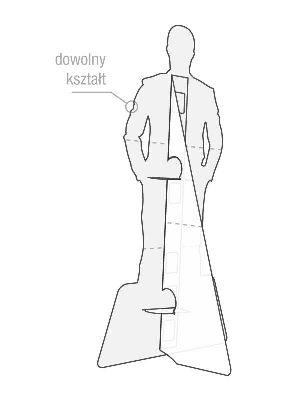 Groovy Stand'up - składany - BROOKLYN - standy i stojaki reklamowe CM83