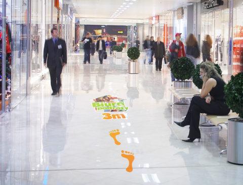 Naklejki podłogowe