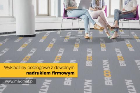 Wykładziny podłogowe z dowolnym nadrukiem
